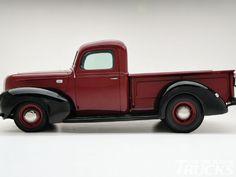 1208cct 03 O +1941 Ford Pickup+side