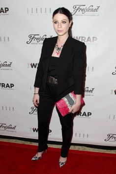 Fabulously Spotted: Michelle Trachtenberg Wearing Rachel Pally & Alice + Olivia - TheWrap's First Annual Emmy Party - http://www.becauseiamfabulous.com/2014/06/michelle-trachtenberg-wearing-rachel-pally-alice-olivia-thewraps-first-annual-emmy-party/