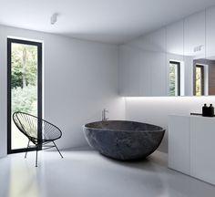 KUOO Architects | Minimalist Bathroom