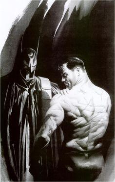 Batman Scars by Alex Ross