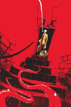 CONSTANTINE: THE HELLBLAZER #9 Written by MING DOYLE and JAMES TYNION IV Art and cover by RILEY ROSSMO