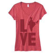 India Love V Neck