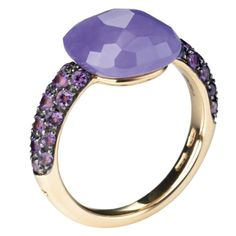 In rose gold, dyed jade and amethyst, £1,900