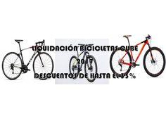 Liquidación bicicletas Cube 2017 con descuentos de hasta el 33%
