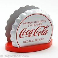 Coca-Cola Bottle Cap Napkin Holder