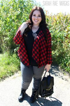 Plus Size Outfit of the Day: Fall Back