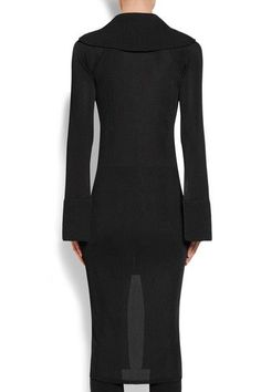 Givenchy - Satin-trimmed Ribbed Stretch-knit Cardigan - Black -