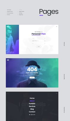 Cesis Creative Agency - FREE Website PSD Template on Behance