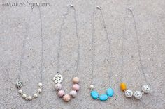 Domestic Bliss Squared: 15 easy jewelry tutorials (for beginners)