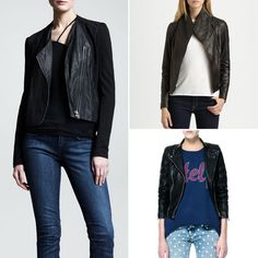 Leather jackets for getting In touch with your inner biker babe!