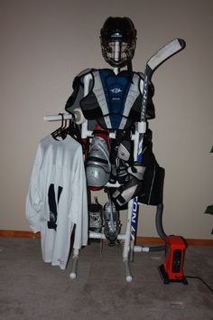 Hockey Equipment Drying Tree