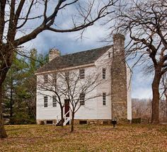 The Carter Mansion, Tennessee's Oldest Frame House - Old-House Online - Old-House Online