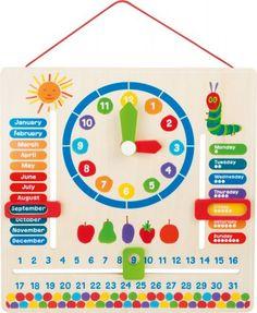 Didaktický kalendář hladová housenka Preschool Calendar, Classroom Calendar, January 10, July 6th, Preschool Weather Chart, Weather Calendar, Charts For Kids, Busy Board, Teaching Aids