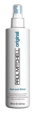 Seal and Shine, spray per la protezione termica e lucentezza per i capelli