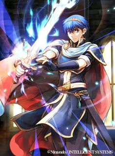 "Marth - Fire Emblem 0 (cipher) ""descendants of the brave ... by Wadasachiko"
