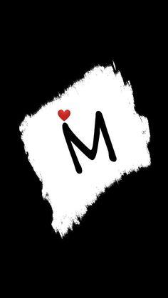 A Letter Wallpaper, Monogram Wallpaper, Love Wallpaper Backgrounds, Bling Wallpaper, Cute Love Wallpapers, Butterfly Wallpaper, Aesthetic Pastel Wallpaper, Beautiful Eyes Pics, M Letter Design