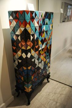 Pixel cabinet, behind the scenes Boca do Lobo, arts and crafts. See all of our products: http://www.bocadolobo.com/en/products/