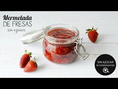 Mermelada de fresas SIN AZÚCAR, fácil rápida y muy nutritiva que tendrás lista en un par de minutos. mira la video receta y preparemos juntas está delicia que podrás disfrutar sin remordimientos.