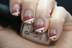 Nails In Nippon: Valentines Day French