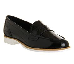 Office Kim Black Patent Leather - Flats