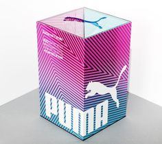Puma packaging by http://www.everyoneassociates.com/