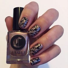 Cirque - Modern Muse, Konad - Black, Bundle Monster Plate - XL209, Seche Vite - Dry Fast Top Coat