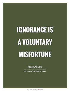 17 Best Ignorance Quotes Images Words Thoughts Thinking About You
