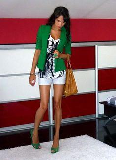 Step into my green world (by Alina Filipescu) http://lookbook.nu/look/2196881-Step-into-my-green-world