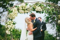 Forest Hall Estate was the setting for Nick & Bianca's wedding. Wedding Kiss, Bridal Salon, First Kiss, Video Photography, Floral Design, Wedding Dresses, Husband, Inspiration, Ideas