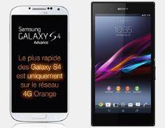 Samsung Galaxy S4 Advance vs Sony Xperia Z Ultra | Versus OS