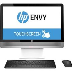"""HP ENVY 23-o014 Core i5 (Haswell), 8GB,1 TB Hybrid Drive, 23"""" IPS FHD 10 Point Touch-enabled AIO Desktop PC (Certified Refurbished)"""