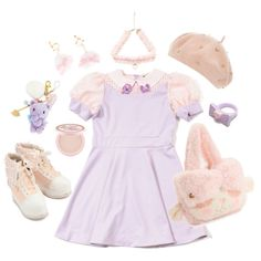 Larme kei #2 by sweetpasteldream on Polyvore featuring Dorothy Perkins, Too Faced Cosmetics and INC International Concepts