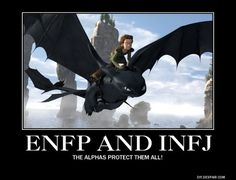 Who is a better match (romantically) for an ENFP male, INTJ or INFJ female? - Quora