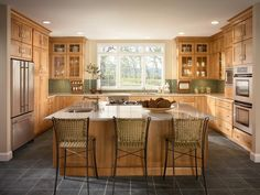 Maple cabinets in toffee for-the-home