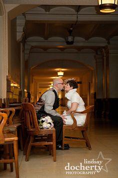 Philadelphia City Hall Wedding Pictures | lindsaydocherty.com | Philly wedding photographer Philadelphia City Hall, Philadelphia Wedding, City Hall Wedding, Wedding Day, Love Couple, Wedding Pictures, Weddings, Couple Photos, Couples