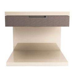 Grade Nightstand  | These bedside tables bring functional style to your bedroom's décor.  | https://deringhall.com #interiordesign #nightstandsideas #nightstand #masterbedroom #bedroom #homedecor