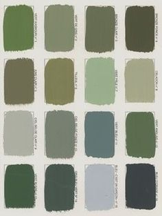 Silvia Patricia Balaguer Olive Green Rooms Paints Decor
