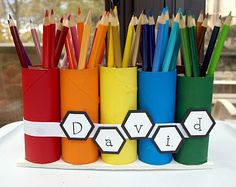 Perfect for my youngest who never has enough colored pencils and they are never organized they way she wants them.