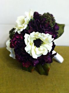 purple fall wedding flowers - Google Search