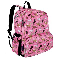 Wildkin Megapak Horses Kids Backpack - Pink