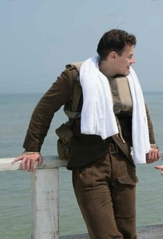 Harry on the set of Dunkirk Perfect Man, A Good Man, Battle Of Dunkirk, One Direction, Harry Styles Dunkirk, Tv Show Music, Smile Everyday, 1d And 5sos, Queen