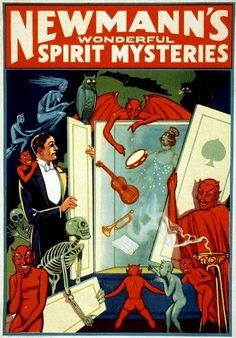 Fantastic A4 Glossy Print 'Newmann's Wonderful Spirit Mysteries' (A4 PRINTS - VINTAGE MAGICIAN'S FLYERS / ADVERTISING POSTERS) by Unknown http://www.amazon.co.uk/dp/B007F0AV52/ref=cm_sw_r_pi_dp_Zq0svb0NGWB86
