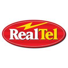 RealTel. Logo design by McQuillen Creative Group. Troy McQuillen, designer.