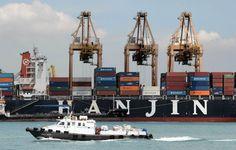 Quiebra la naviera Hanjin Shipping, uno de los mejores clientes del Canal de Panamá. @prensacom