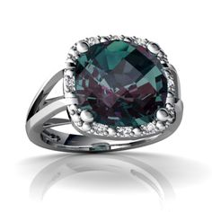 Alexandrite Ring Is the most beautiful stone... AND IS JUNE 's BIRTHDAY STONE..I have a beautiful necklace but want a ring:)