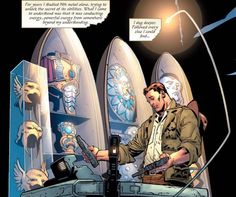 Ties to deep DC history as well as more recent stories like FINAL CRISIS and THE RETURN OF BRUCE WAYNE.