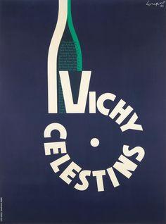 Vichy Celestins - 1953 - (Charles Loupot) -