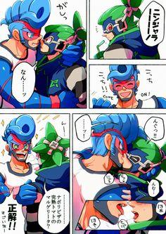 ARMS Spring Man x Ninjara by すぷにん難民 @nkraae