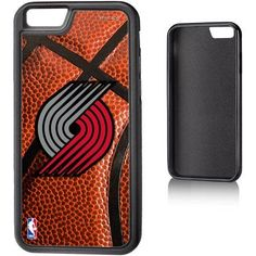 Portland Trail Blazers Basketball Design Apple iPhone 6 Bump Case by Keyscaper