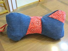 Dog Bone Neck Pillow Pattern Sewing Ideas Project On